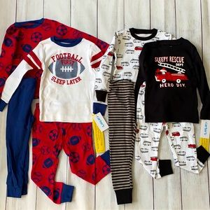 Carter's NWT 24 Months Pajama Sets - 8 Pieces